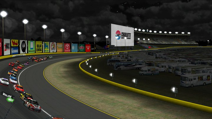 Charlotte motor speedway big screen for Charlotte motor speed way